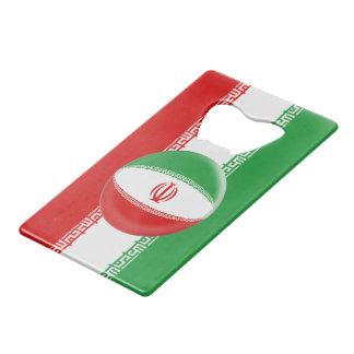 Iran Iranian Flag Credit Card Bottle Opener