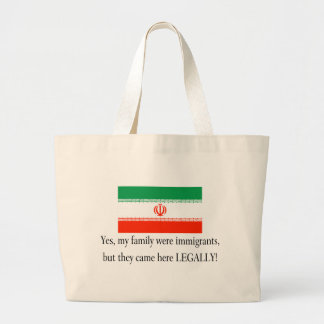 Iran Jumbo Tote Bag
