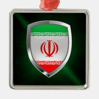 Iran Metallic Emblem Metal Ornament