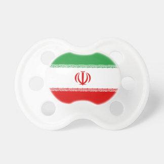 Iran National World Flag Pacifier