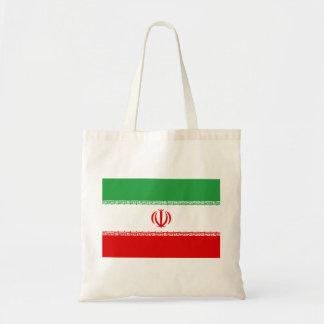 Iran National World Flag Tote Bag