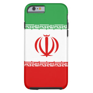 Iran National World Flag Tough iPhone 6 Case
