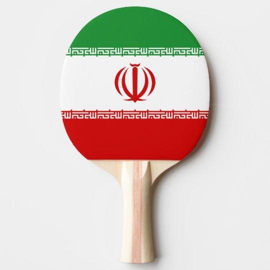 Iran Ping Pong Paddle