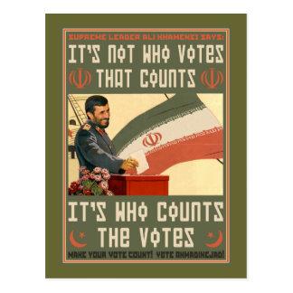 Iran Vote '09 Postcard