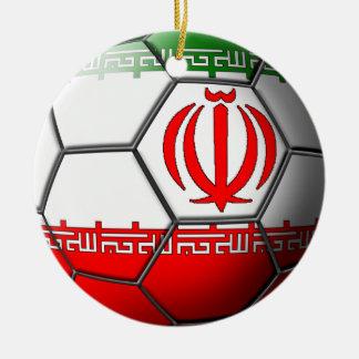 Iranian Soccer Ornament