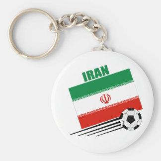 Iranian Soccer Team Keychain