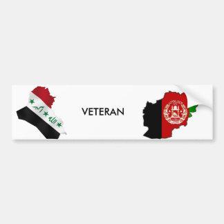 Iraq Afghanistsan Veteran Bumper Sticker