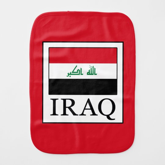 Iraq Baby Burp Cloth