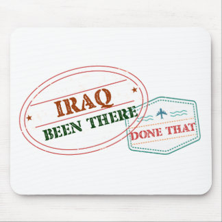 Iraq Been There Done That Mouse Pad
