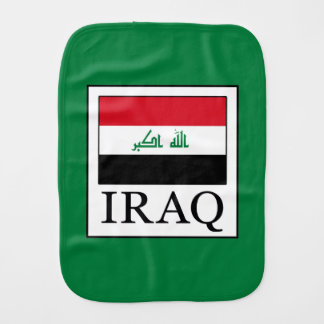 Iraq Burp Cloth