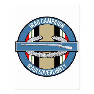 Iraq Campaign CIB Post Card