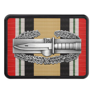 Iraq Combat Action Badge Hitch Cover