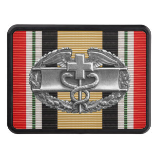 Iraq Combat Medical Badge Hitch Cover