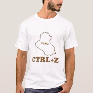 Iraq - Control Z (UNDO) T-Shirt
