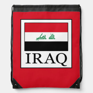 Iraq Drawstring Bag