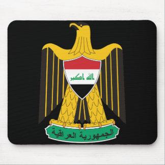 iraq emblem mouse pad