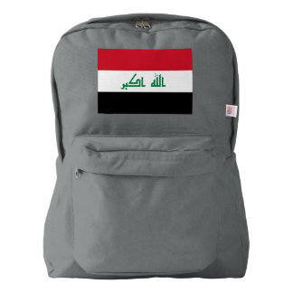 Iraq Flag Backpack