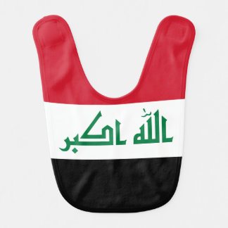 Iraq Flag Bib
