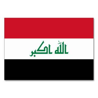 Iraq Flag Card