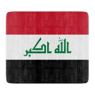 Iraq Flag Cutting Board