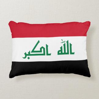 Iraq Flag Decorative Pillow