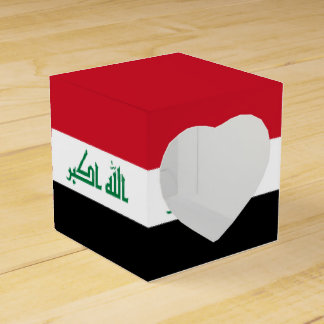 Iraq Flag Favor Box