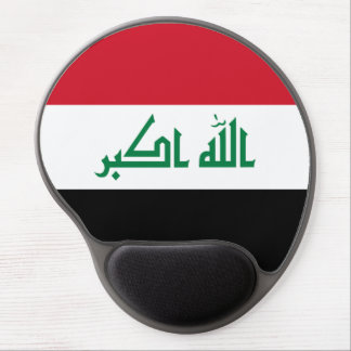 Iraq Flag Gel Mouse Pad