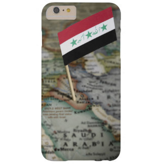 Iraq flag in map barely there iPhone 6 plus case