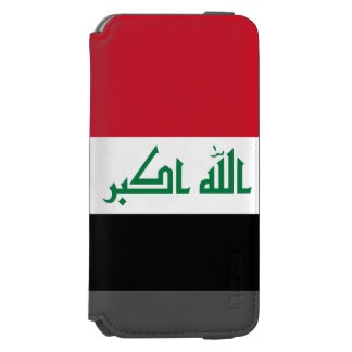 Iraq Flag Incipio Watson™ iPhone 6 Wallet Case