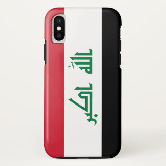 Iraq Flag iPhone X Case
