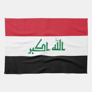 Iraq Flag Kitchen Towel