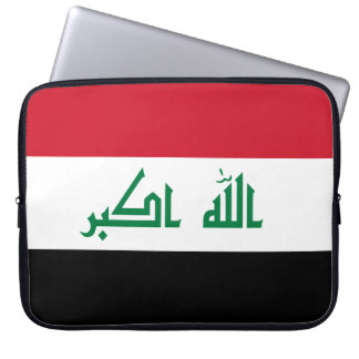 Iraq Flag Laptop Sleeve