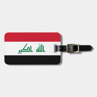 Iraq Flag Luggage Tag