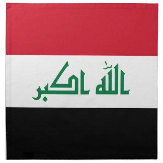 Iraq Flag Napkin