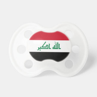 Iraq Flag Pacifier