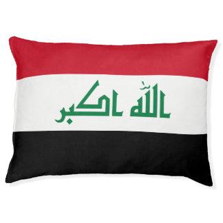 Iraq Flag Pet Bed