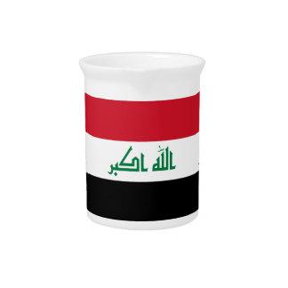 Iraq Flag Pitcher
