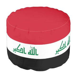Iraq Flag Pouf
