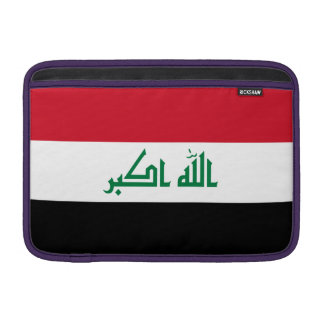 Iraq Flag Sleeve For MacBook Air