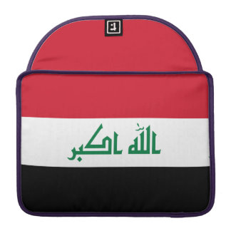Iraq Flag Sleeve For MacBook Pro
