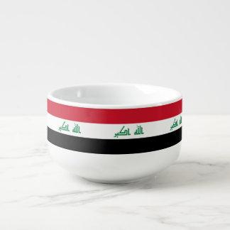 Iraq Flag Soup Mug