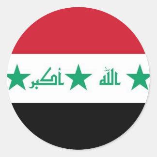 Iraq Flag Sticker - Customized