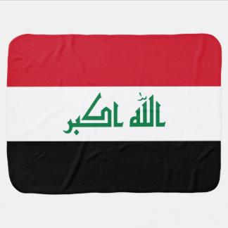 Iraq Flag Stroller Blanket