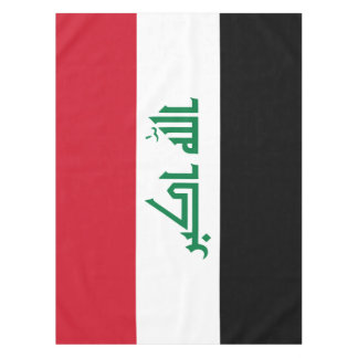 Iraq Flag Tablecloth