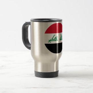 Iraq Flag Travel Mug