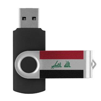 Iraq Flag USB Flash Drive