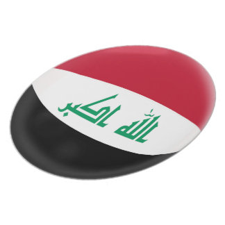 Iraq Iraqi Flag Plate