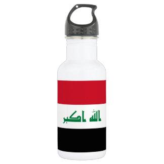 Iraq National World Flag 532 Ml Water Bottle