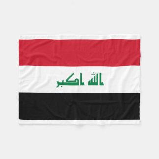 Iraq National World Flag Fleece Blanket