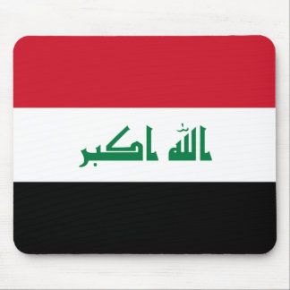 Iraq National World Flag Mouse Pad
